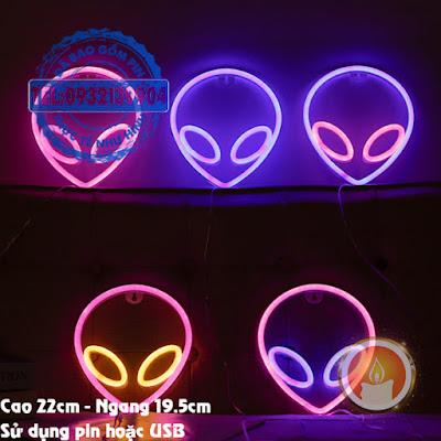 Đèn led neon người hành tinh