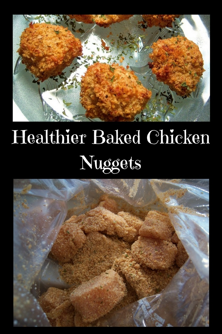 Healthier Baked Chicken Nuggets