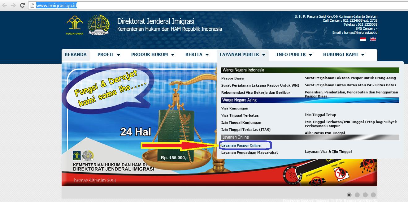 Layanan paspor Indonesia tidak bisa online tahun 2017