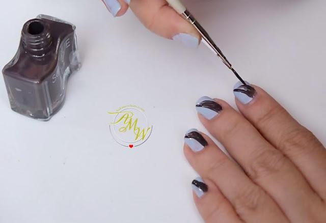 a photo Solique x Agoo's Holiday Nail Art Tutorial by Nikki Tiu