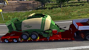 Doll Vario trailer with Krone BigPack as cargo