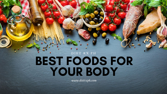 WHAT ARE THE BEST FOODS FOR YOUR BODY?
