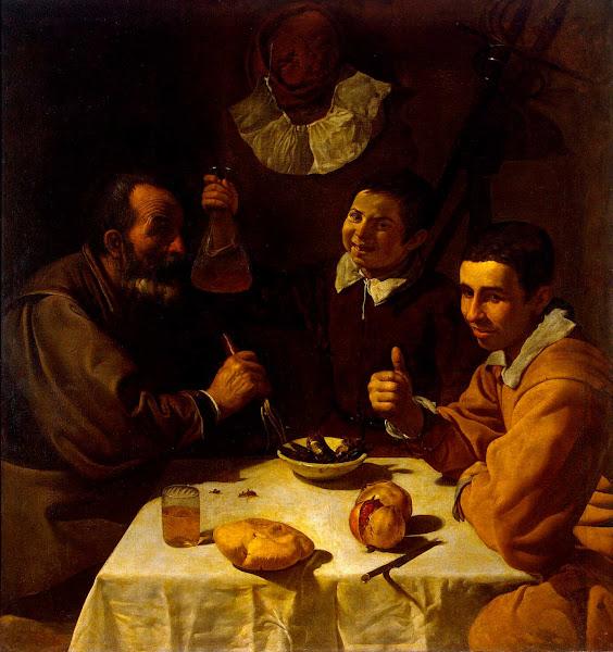Диего Веласкес - Завтрак (1617)