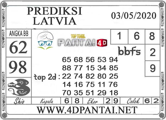 PREDIKSI TOGEL LATVIA PANTAI4D 03 MEI 2020