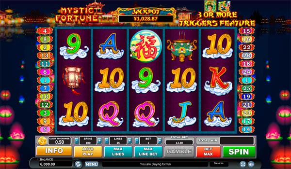 Main Gratis Slot Indonesia - Mystic Fortune Habanero