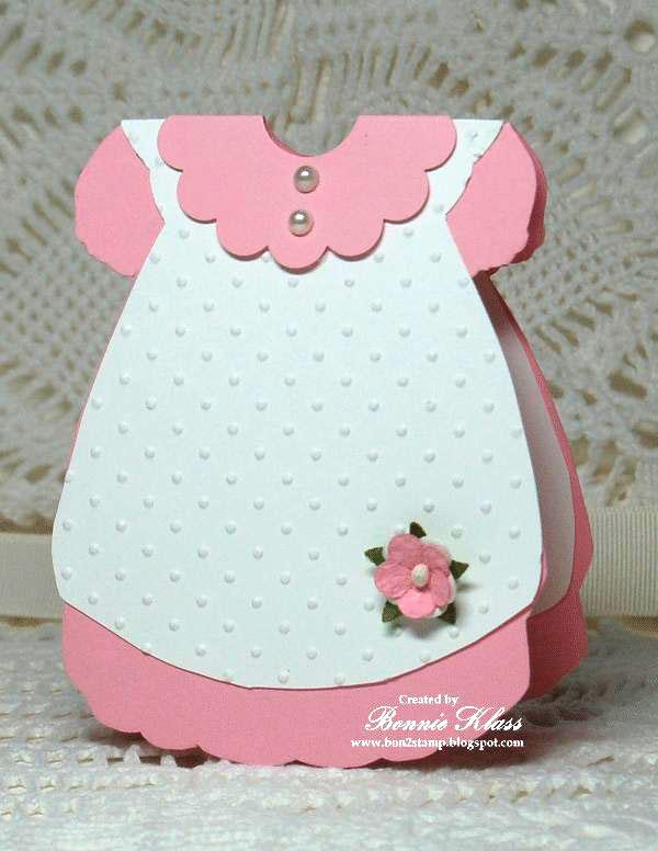 Открытка для новорожденной девочки своими руками платье, немецком выздоравливай