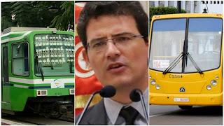 وزير النقل معز شقشوق يؤكد على الترفيع في تعريفة النقل بداية من جوان و ذلك من اجل مصلحة تونس