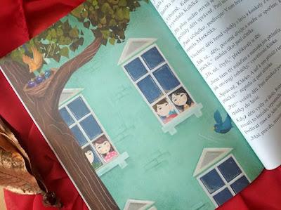 Ptačí štěbetání (Marcela Kotová, ilustrace Kateřina Kofroňová, nakladatelství Grada – Bambook)