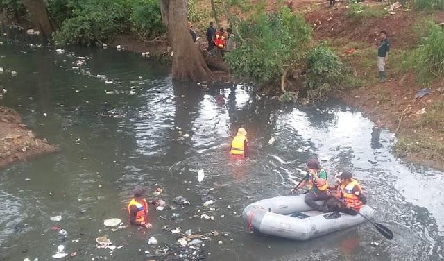 Satu Korban Tenggelam Di Kali Serua Angke, Ditemukan Meninggal Dunia