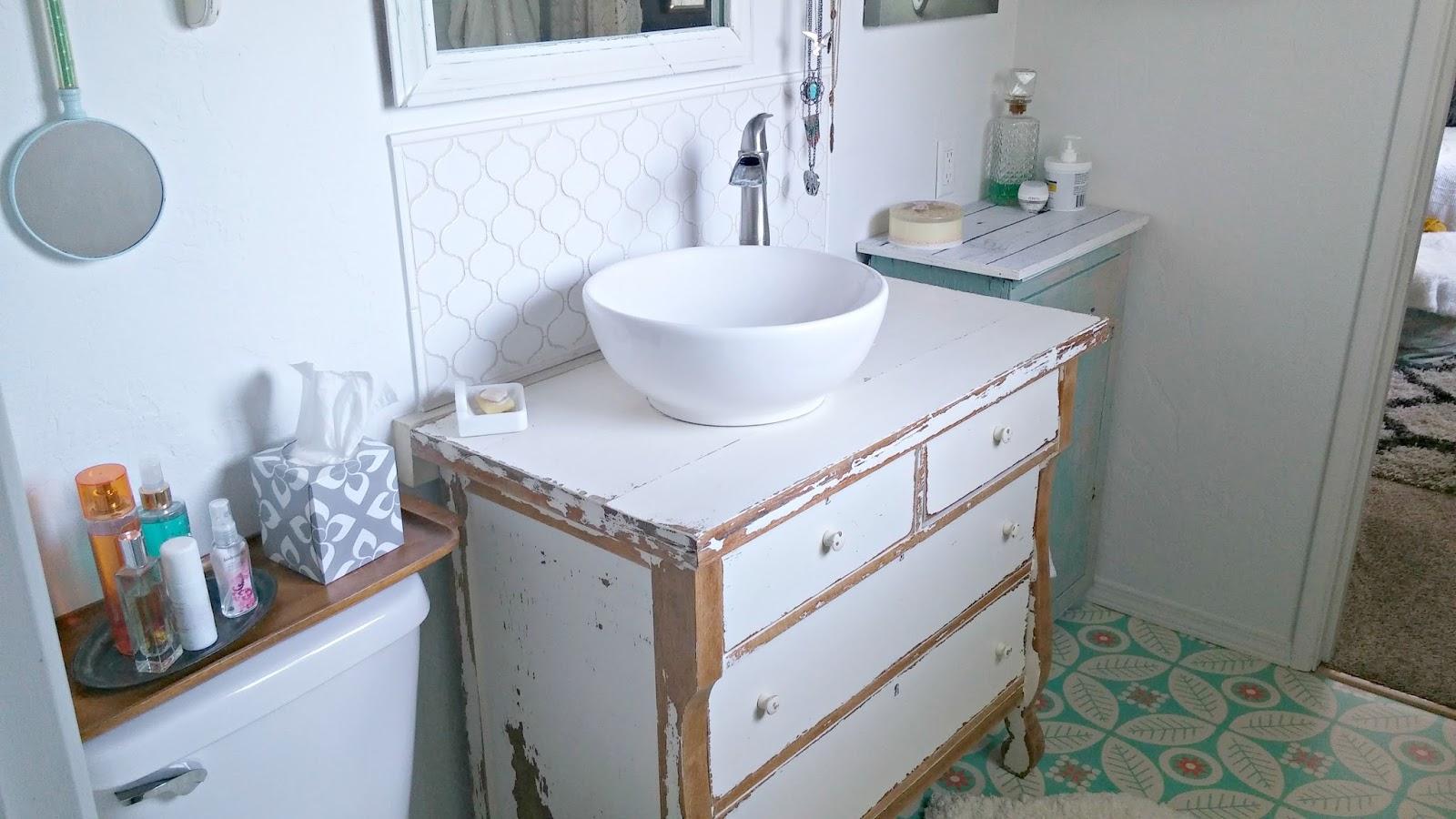 Half Bath Makeover Reveal - Little Vintage Cottage