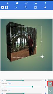 Cara menciptakan foto profil whatsapp menjadi  √  Cara Praktis Membuat 3D Foto Profil di Whatsapp