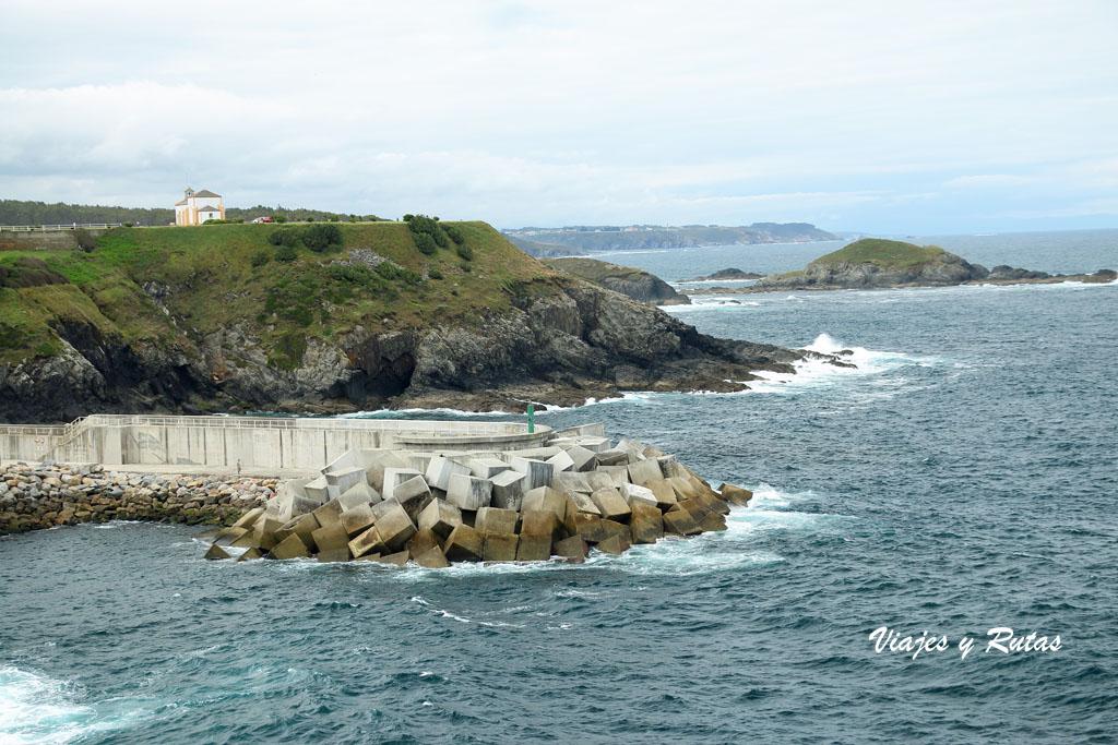 La Atalaya de Puerto de Vega, Senda Naviega de Asturias