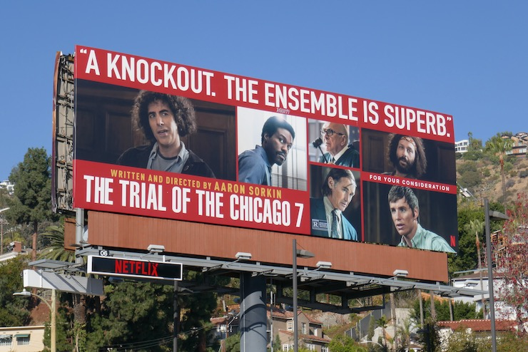 Trial of Chicago Ensemble superb FYC billboard