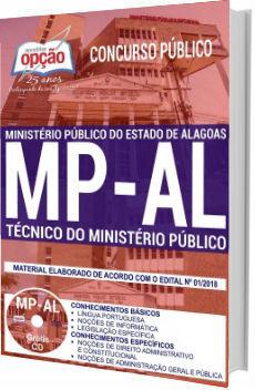 Apostila MP-AL 2018 Técnico do Ministério Público