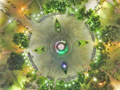 Gambar Taman Alun - alun Kota Malang