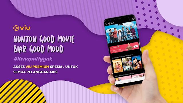 #Axis - #Promo Nonton Good Movie Akses VIU Premium (s.d 07 Jan 2020)
