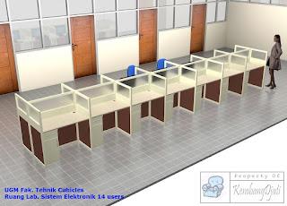 Furniture Interior Semarang  Meja Sekat Kantor  Meja Kubikel