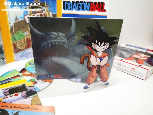 Un vistazo al cuarto volumen de la edición Blu-Ray de Dragon Ball.