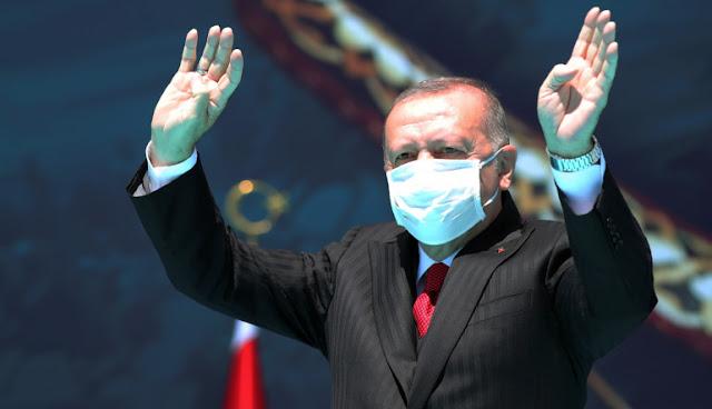 Μεγαλοϊδεατισμοί Ερντογάν: Είμαστε οι ιδιοκτήτες της Μεσογείου