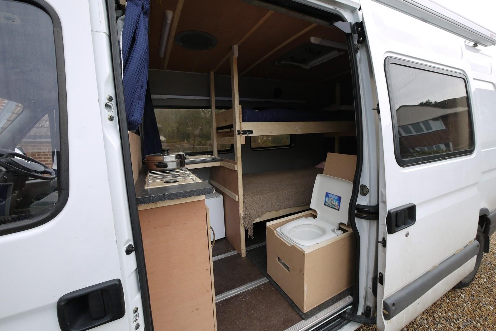 Box Van Camper Conversion
