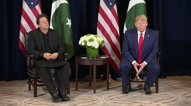 Donald Trump leaves Imran Khan red-faced at Kashmir Question