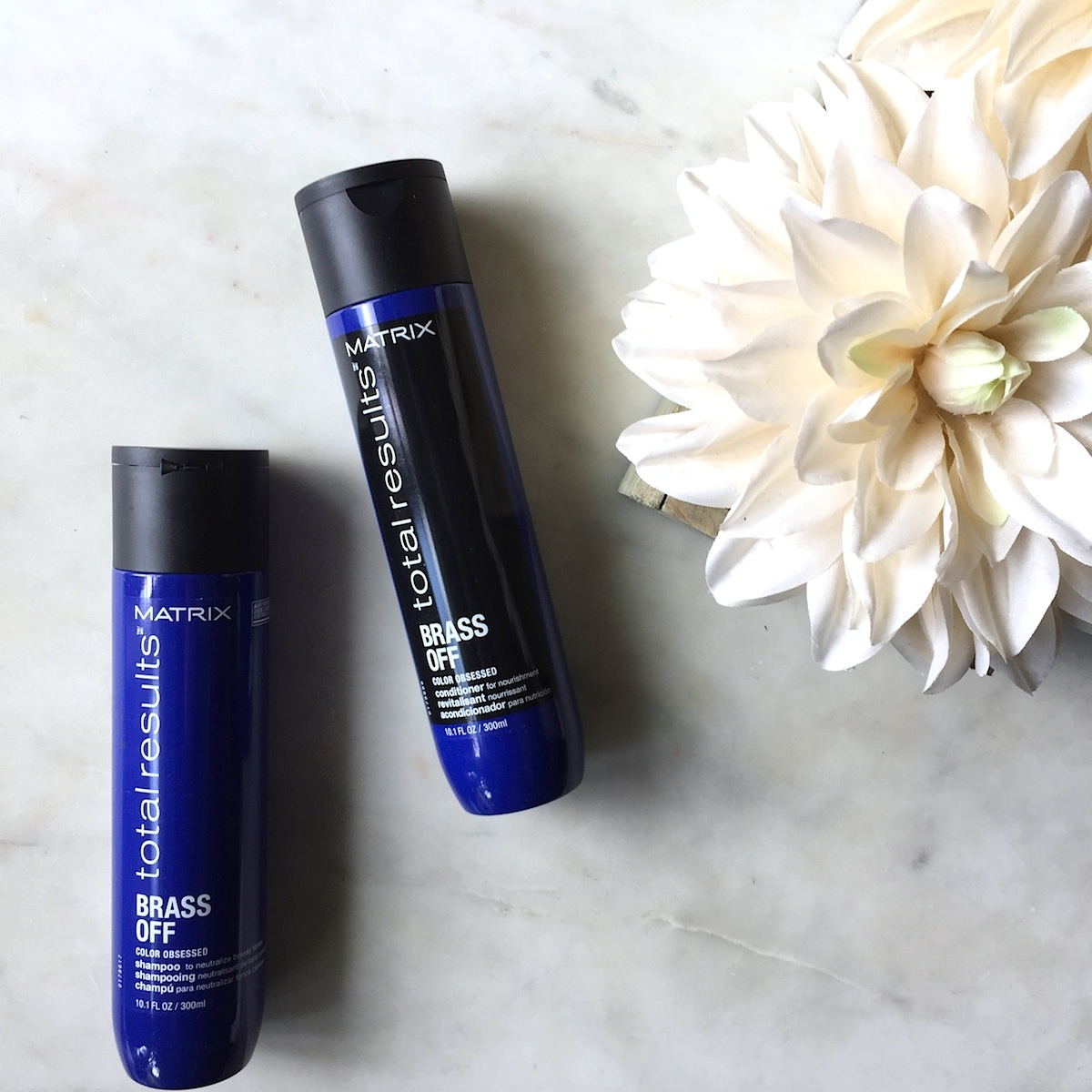 Matrix Total Results Brass Off Shampoo and Conditioner: A quick review