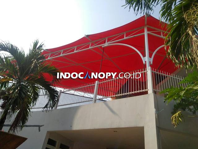 canopy membrane untuk sekolah
