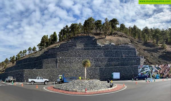 Concluyen las obras de seguridad del cruce del Toscón en Fuencaliente