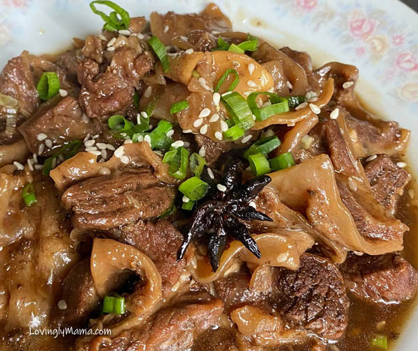 What's beef camto in English, beef flank, flank steak, Korean beef stew recipe, beef stew, beef stew recipe, sesame seeds, sesame oil, cooking with sesame seeds, health benefits of sesame seeds, beef recipe, Korean food, K-Drama, homecooking, from my kitchen, quarantine cooking, Enhanced Community Quarantine, ECQ, Covid-19, wellness, stay at home, meat delivery, The Butcher's Daughter, butcher, Bacolod butcher, meat supplier, Bacolod City, Bacolod meat supplier, comfort food, beef nilaga, pressure cooker, kitchen hack, cooking tool,