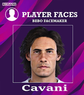 PES 2020 Faces Edinson Cavani by Bebo