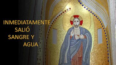 Evangelio según san Juan (19, 31-37): Inmediatamente salió sangre y agua