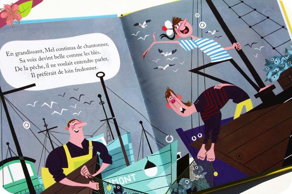 Un petit livre d'or : Le Chanteur et la baleine - Deux Coqs d'Or