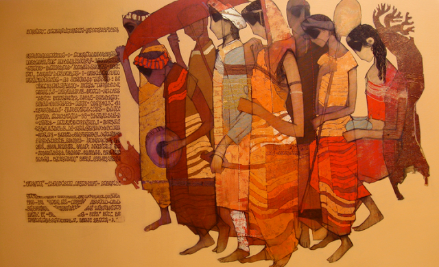 "Paintings by Indian Artist ""Siddharth Shingade"""