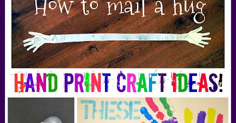 hand print craft ideas handprint craft ideas on tuesday tots growing a jeweled 4633