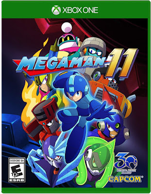 Mega Man 11 Game Cover Xbox One