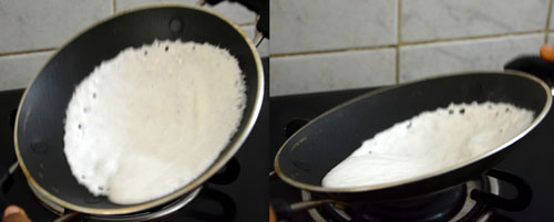 How to make spongy appams