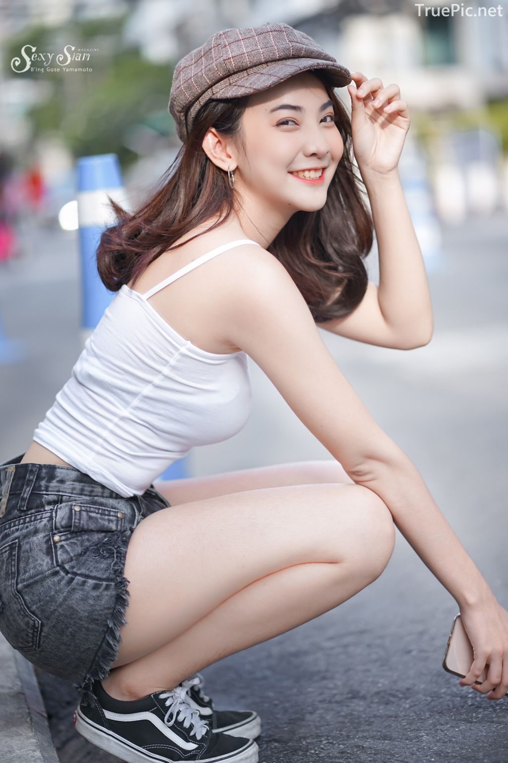 Thailand beautifil girl - Wannapon Thongkayai - The Angel on the City Street - TruePic.net - Picture 2