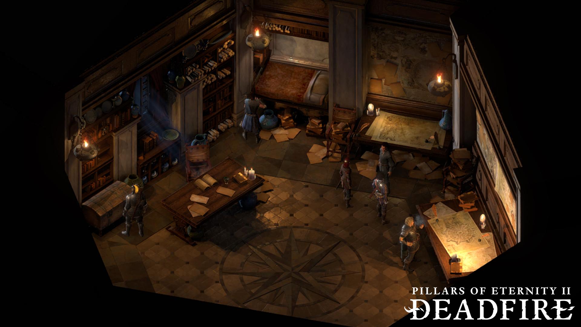 Pillars Of Eternity 2 The Forgotten Sanctum Wallpapers Read Games