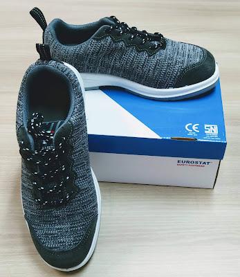 Sepatu Safety Eurostat Grey Hound