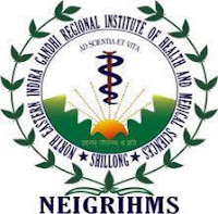 NEIGRIHMS naukri vacancy
