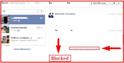 how to tell if someone blocked you on facebook or deactivated their account