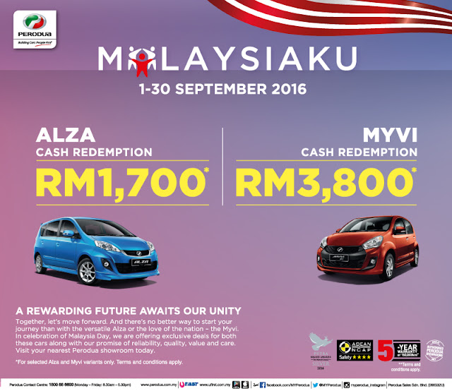 Promosi Perodua September 2016