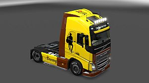 I Love Country Music Skin for Volvo 2012