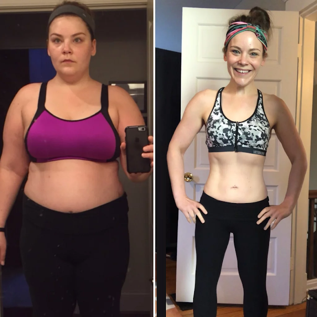Kate McGinty Weight Loss Before and After