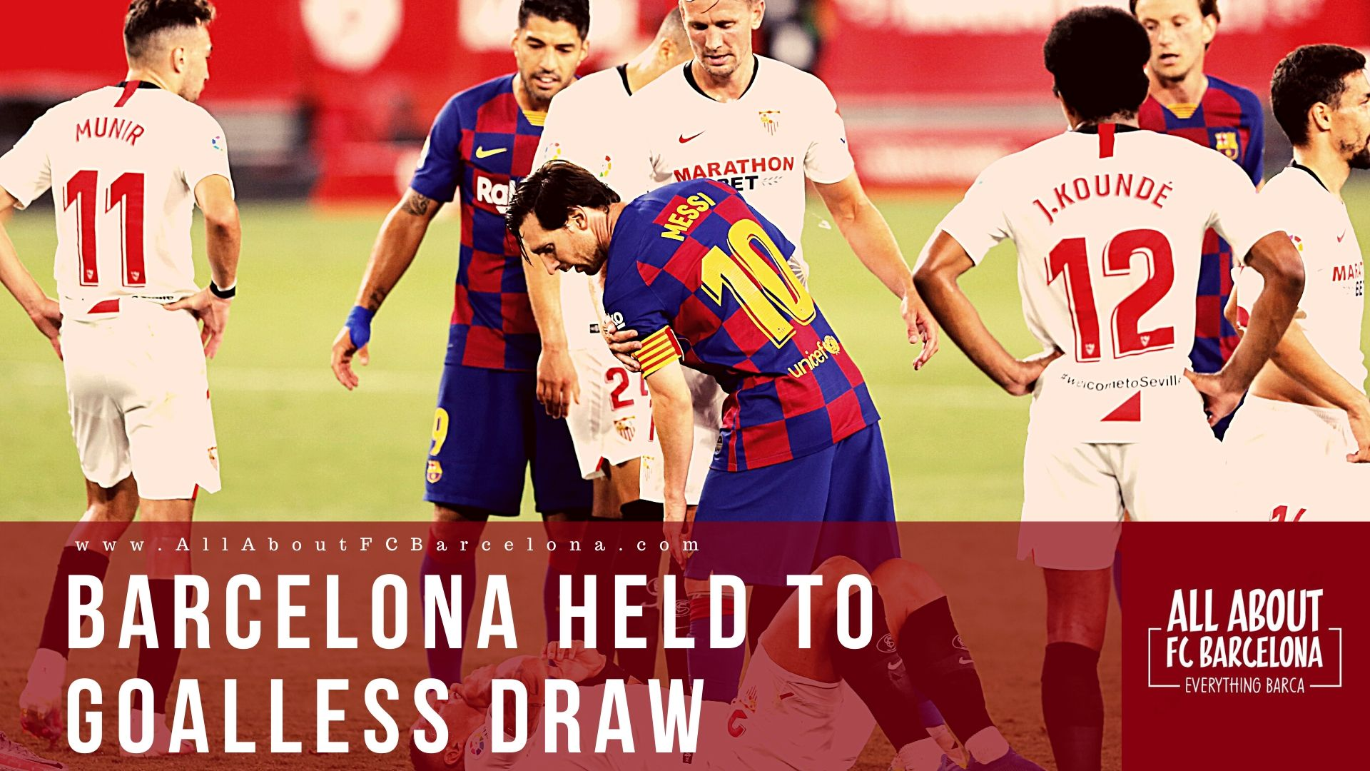 Sevilla drew with Barcelona
