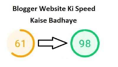 Google Website Ki Speed Kaise Badhaye