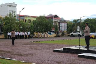 32 Personel Polres Pinrang Naik Pangkat Setingkat Lebih Tinggi,Kapolres Sampaikan Ini