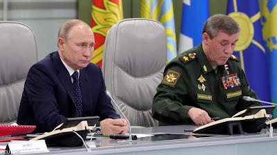 بوتن يرد على تجربة الصاروخ الامريكي بأمر عسكري