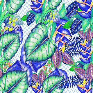 Green garden-repeat-textile-design-210061