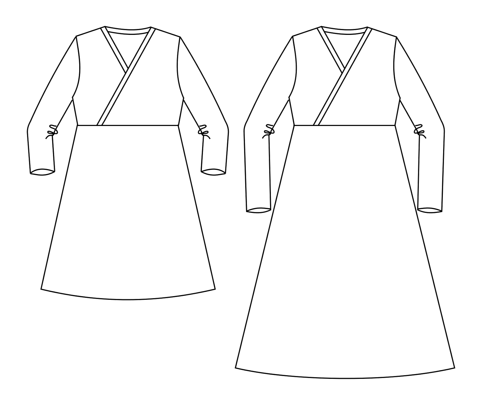 The Jocole Blog Crossover Tunic Sleeve Modification